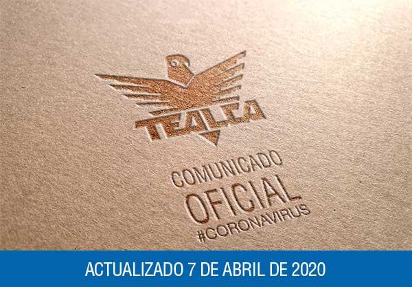 TEALCA CORONAVIRUS